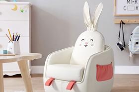 动物卡通儿童沙发座椅
